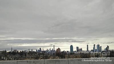 Photograph - New York City by Anna Folkartanna Maciejewska-Dyba