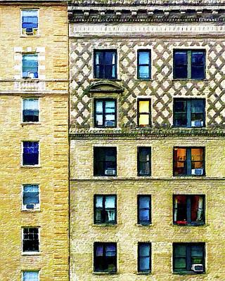 Painting - New York City Apartment Building by Tony Rubino