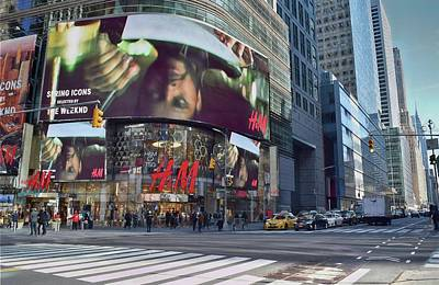 Photograph - New York City - Broadway And 42nd St by Dyle Warren