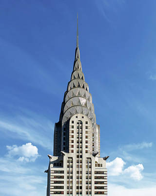 Painting - New York City Chrysler Building by Christopher Arndt
