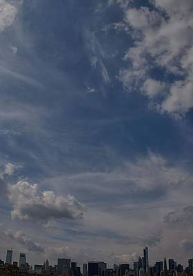 Photograph - New York City Cloudscape by Steven Richman