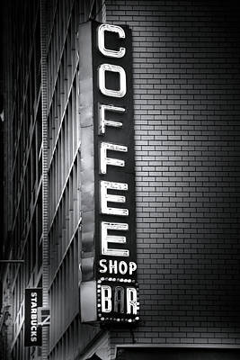 New York City Coffee House Print by Mark Andrew Thomas