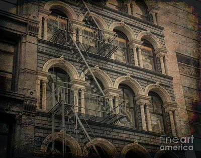 Photograph - New York City Dwelling by Luther Fine Art