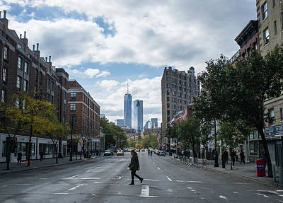 Photograph - New York City Fall Day by Frank DiMarco