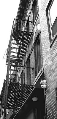 Photograph - Nyc Fire Escapes by Doc Braham
