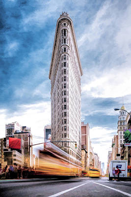 Painting - New York City Flatiron by Christopher Arndt