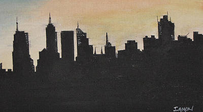 Painting - New York City by Gary Smith