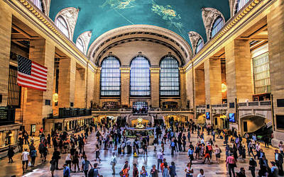 Painting - New York City Grand Central Terminal by Christopher Arndt