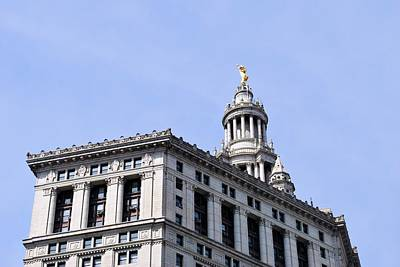 Photograph - New York City Hall - Top View by Matt Harang