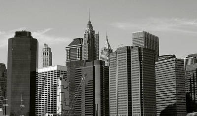 Photograph - New York City by Helen Haw
