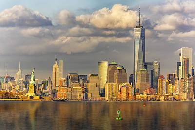 Photograph - New York City Icons II by Susan Candelario