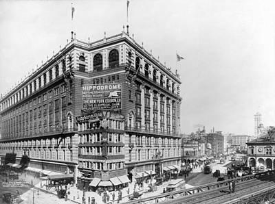 Herald Photograph - New York City. Macys Building by Everett