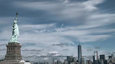 Photograph - New York City Manhattan Panorama by Dan Sproul