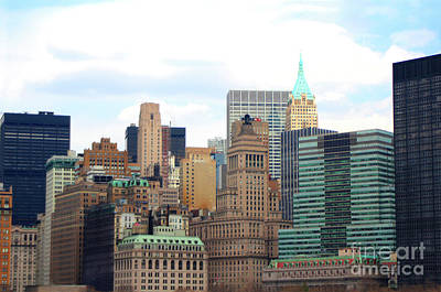 Photograph - New York City Manhattan Skyline  by Doc Braham