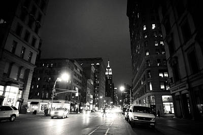 Film Noir Photograph - New York City - Midnight by Vivienne Gucwa