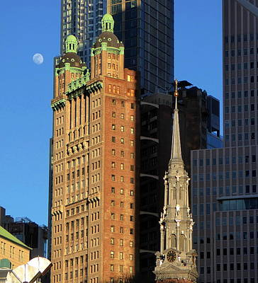 Photograph - Towers Of New York City by Peter Potter