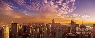 Photograph - New York City Panorama by Rima Biswas
