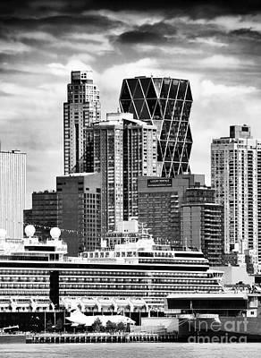 Photograph - New York City Patterns by John Rizzuto