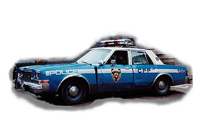 Photograph - New York City Police Patrol Car 1980s by Tom Conway