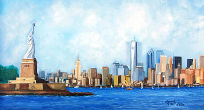 New York City Rebirth Art Print