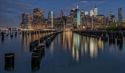 New York City Skyline Photograph - New York City by Reinier Snijders