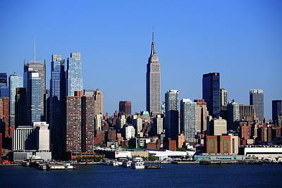 Photograph - New York City Skyline 15 by Frank Romeo