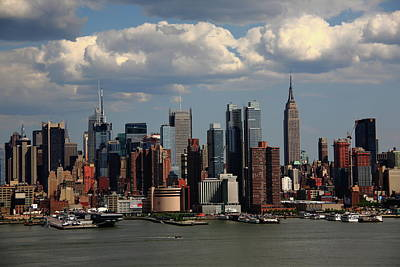 Photograph - New York City Skyline 4 by Frank Romeo