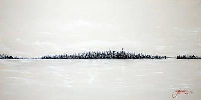 New York City Skyline Painting - New York City Skyline 48 by Jack Diamond