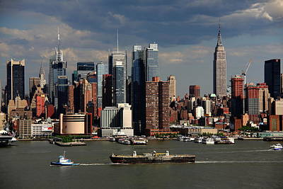 Photograph - New York City Skyline 6 by Frank Romeo