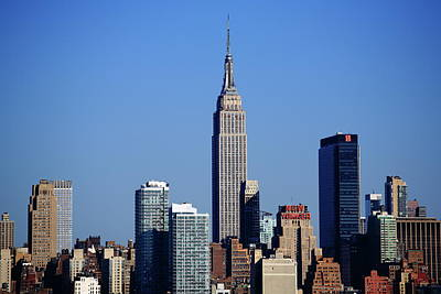 Photograph - New York City Skyline 8 by Frank Romeo