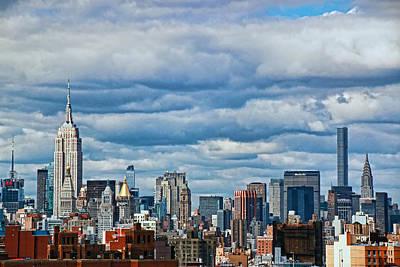 Photograph - New York City Skyline by Allen Beatty