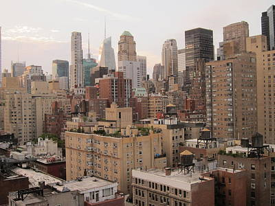 Rooftop View In New York Photograph - New York City Skyline From Murray Hill by Anna Maria Virzi