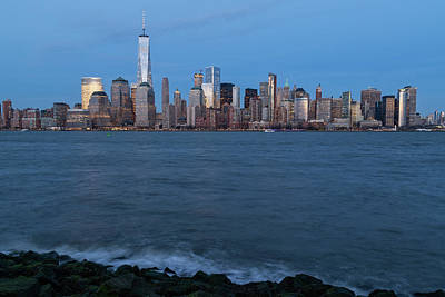 Photograph - New York City Skyline by Dave Files