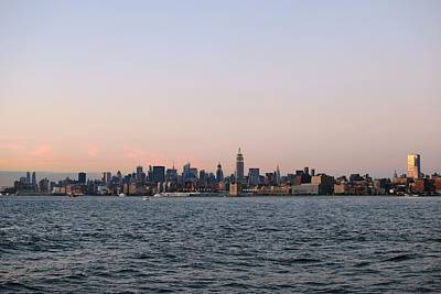 Photograph - New York City Skyline - Distant View by Matt Harang