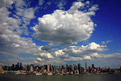 Photograph - New York City Skyline by Frank Romeo