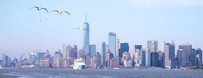 Photograph - New York City Skyline by Mark Andrew Thomas