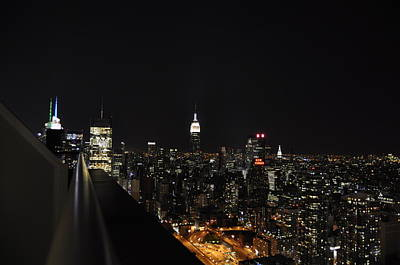 Skylines Royalty-Free and Rights-Managed Images - New York City Skyline by Pelo Blanco Photo