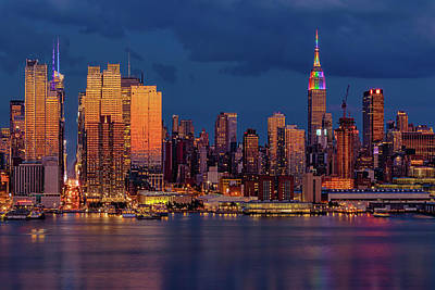 Photograph - New York City Skyline Pride by Susan Candelario
