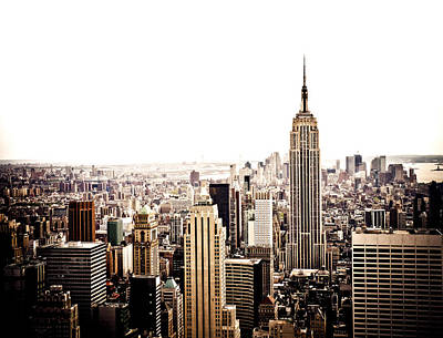 Skylines Photograph - New York City Skyline by Vivienne Gucwa