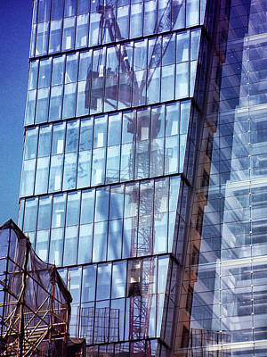 Photograph - New York City Skyscraper Art 2 by Judi Saunders