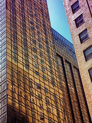 Photograph - New York City Skyscraper Art 3 by Judi Saunders