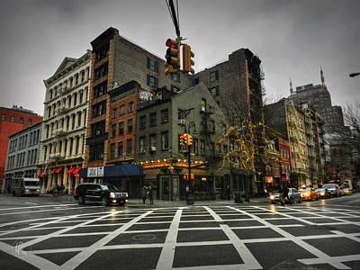 Photograph - New York City - Soho 005 by Lance Vaughn