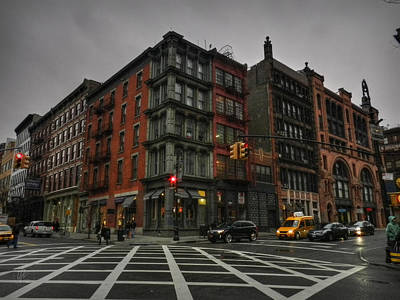 Photograph - New York City - Soho 006 by Lance Vaughn