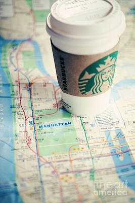 Cute Photograph - New York City Subway Map by Kim Fearheiley