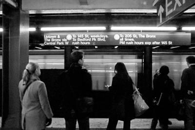 New York City Subway Art Print by Patrick  Flynn