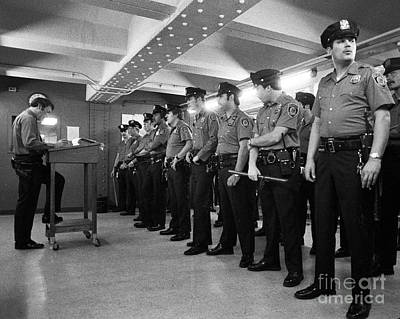 New York City Transit Police 1978 Print by The Harrington Collection