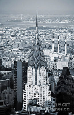 Photograph - New York City - Usa - Chrysler Building by Carlos Alkmin