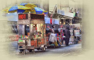 Photograph - New York City Vendor by Dyle Warren