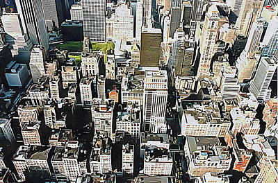 Photograph - New York City View by Dorothy Berry-Lound