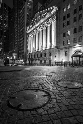 Photograph - New York City Wall Street  by John McGraw